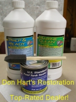Everything you need to Clean, Prep & Seal Your Project from Don Hart's