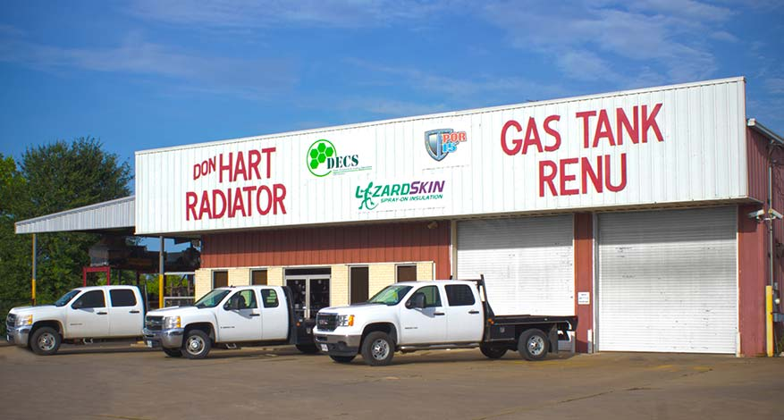 Front of Building - Don Hart Radiator Repair Service
